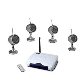 W802G4 2 4G Wireless Camera and Receiver Kit 4-Camera