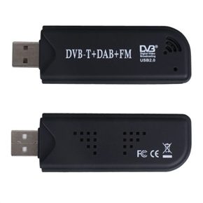 Mini digital tv stick usb dvb-t+dab+fm radio tuner recorder.